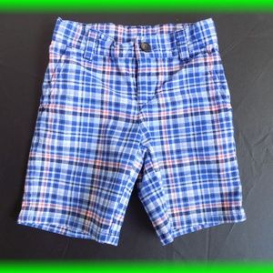 Janie and Jack Plaid Shorts Size 3